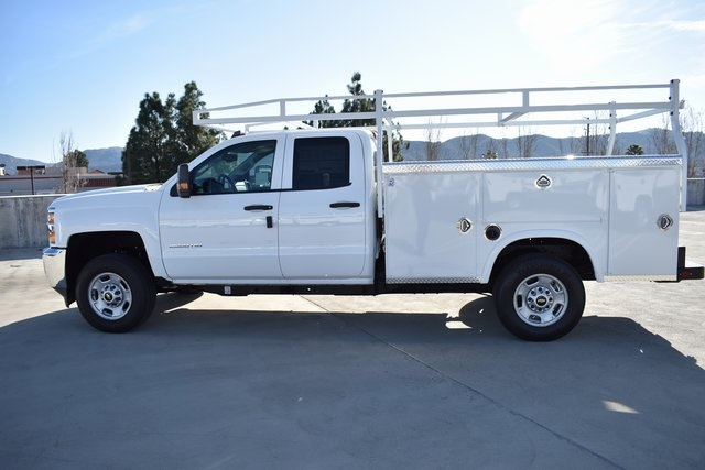 2019 Silverado 2500 Double Cab 4x2, Royal Service Body Utility #M191152 - photo 5