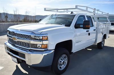 2019 Silverado 2500 Double Cab 4x2, Royal Service Body Utility #M191152 - photo 4