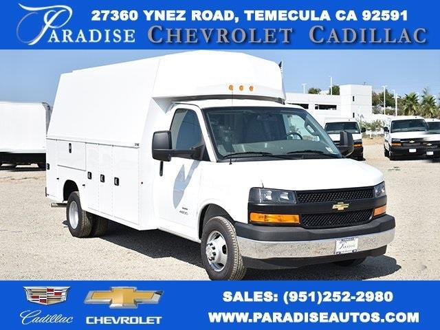 2019 Chevrolet Express 4500 4x2, Knapheide Service Utility Van #M191159 - photo 1