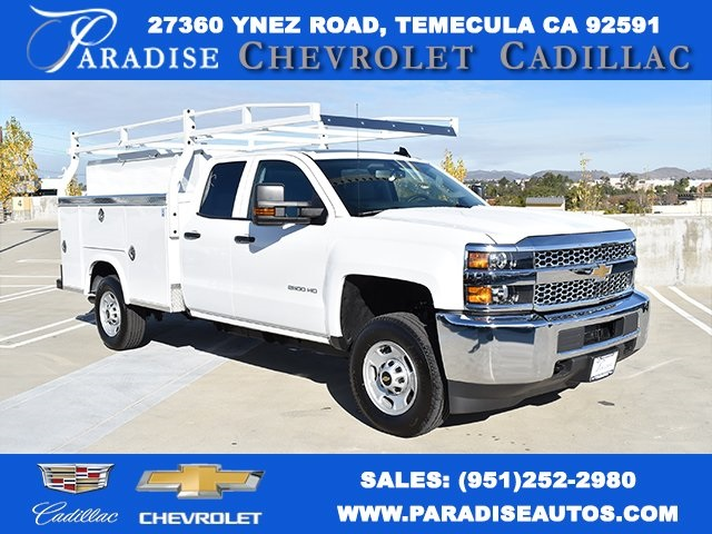 2019 Silverado 2500 Double Cab 4x2,  Royal Utility #M19116 - photo 1