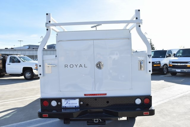 2019 Silverado 2500 Double Cab 4x2,  Royal Service Body Utility #M19116 - photo 9