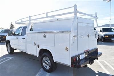 2019 Silverado 2500 Double Cab 4x2,  Royal Service Body Utility #M19116 - photo 8