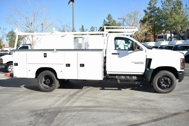 2019 Silverado 4500 Regular Cab DRW 4x2, Knapheide Steel Service Body Utility #M191165 - photo 3
