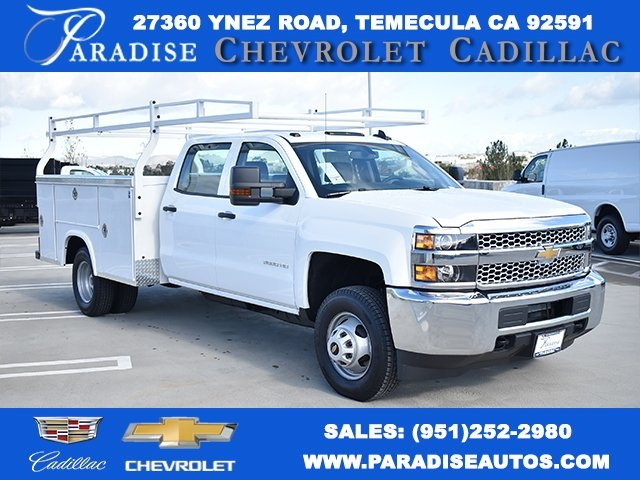2019 Silverado 3500 Crew Cab DRW 4x2,  Royal Utility #M19117 - photo 1