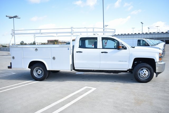 2019 Silverado 3500 Crew Cab DRW 4x2,  Royal Service Body Utility #M19117 - photo 10