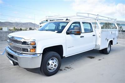 2019 Silverado 3500 Crew Cab DRW 4x2,  Royal Service Body Utility #M19117 - photo 6