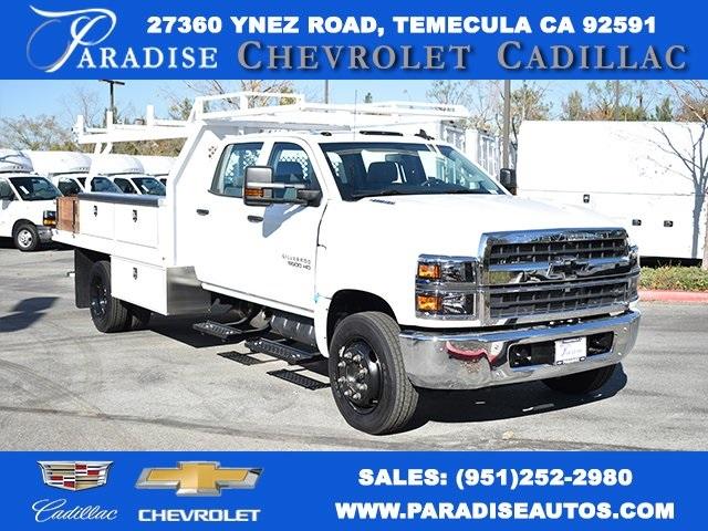 2019 Chevrolet Silverado 5500 Crew Cab DRW 4x2, Harbor Contractor Body #M191170 - photo 1