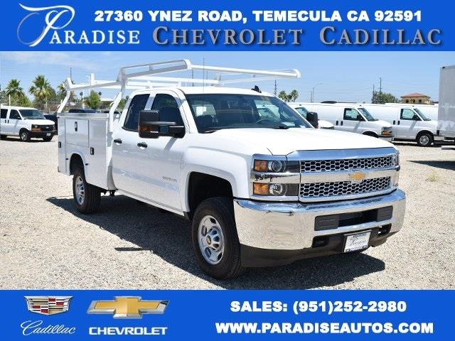 2019 Chevrolet Silverado 2500 Double Cab 4x2, Knapheide Steel Service Body Utility #M191193 - photo 1