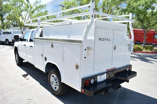 2019 Silverado 2500 Double Cab 4x2, Royal Service Body Utility #M191202 - photo 4