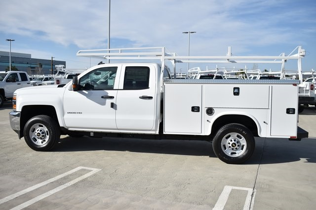 2019 Silverado 2500 Double Cab 4x2, Knapheide Steel Service Body Utility #M191210 - photo 5