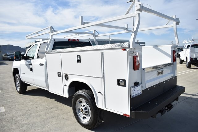2019 Silverado 2500 Double Cab 4x2, Knapheide Steel Service Body Utility #M191217 - photo 6