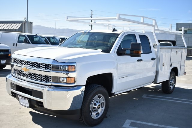 2019 Silverado 2500 Double Cab 4x2,  Harbor Utility #M19122 - photo 5