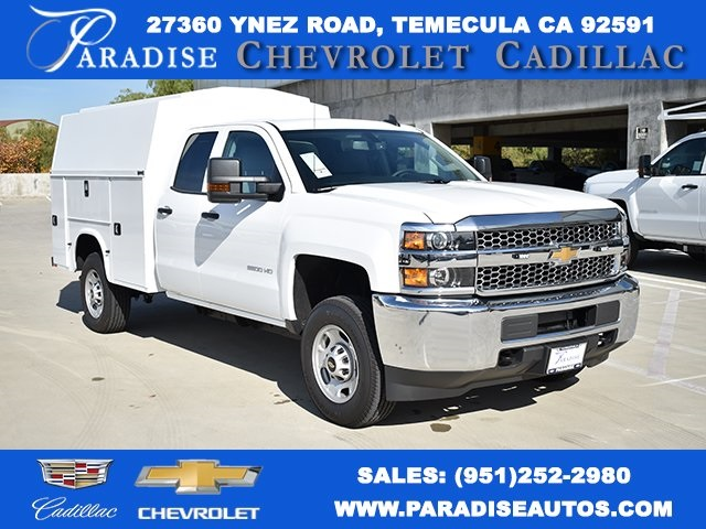 2019 Chevrolet Silverado 2500 Double Cab 4x2, Knapheide Utility #M191223 - photo 1