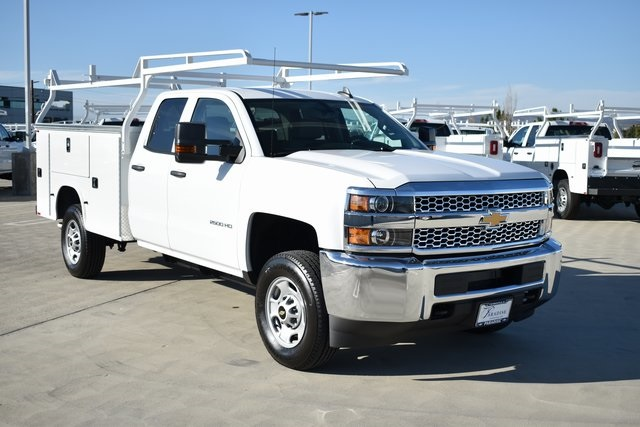 2019 Silverado 2500 Double Cab 4x2, Knapheide Steel Service Body Utility #M191227 - photo 1