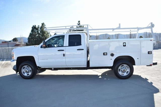 2019 Silverado 2500 Double Cab 4x2, Knapheide Steel Service Body Utility #M191227 - photo 5