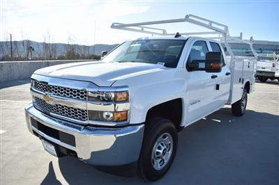 2019 Silverado 2500 Double Cab 4x2, Knapheide Steel Service Body Utility #M191227 - photo 4