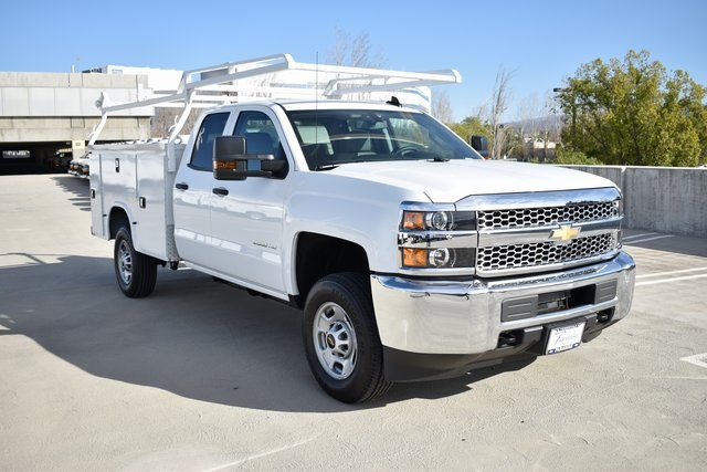 2019 Silverado 2500 Double Cab 4x2, Knapheide Steel Service Body Utility #M191229 - photo 1