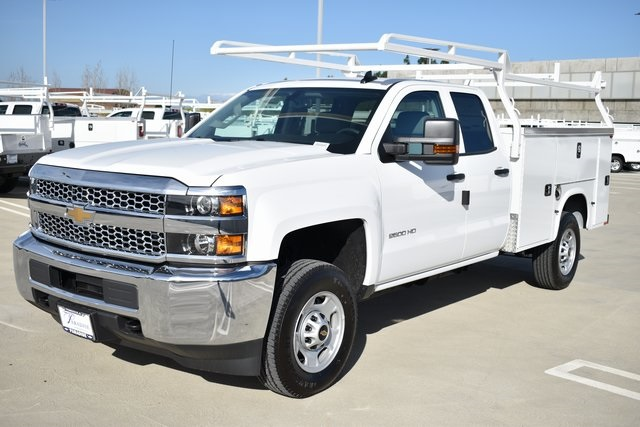 2019 Silverado 2500 Double Cab 4x2, Knapheide Steel Service Body Utility #M191229 - photo 4