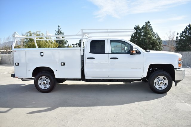 2019 Silverado 2500 Double Cab 4x2, Knapheide Steel Service Body Utility #M191229 - photo 8