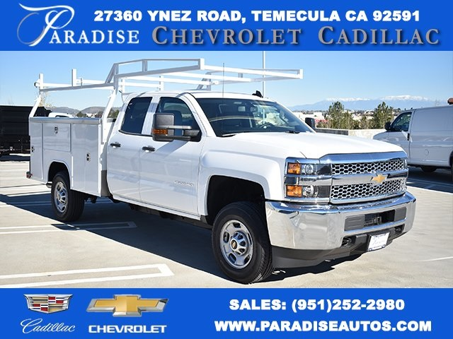 2019 Silverado 2500 Double Cab 4x2,  Harbor Utility #M19123 - photo 1