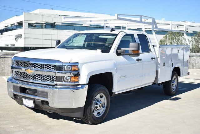 2019 Silverado 2500 Double Cab 4x2,  Harbor Utility #M19123 - photo 6