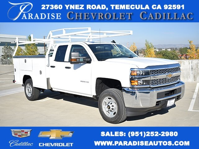 2019 Silverado 2500 Double Cab 4x2,  Harbor TradeMaster Utility #M19124 - photo 1