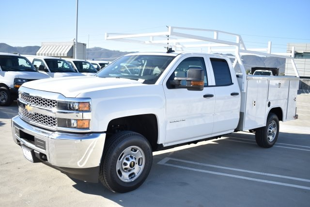2019 Silverado 2500 Double Cab 4x2,  Harbor Utility #M19124 - photo 5