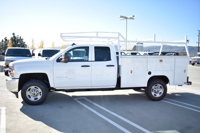 2019 Silverado 2500 Double Cab 4x2,  Harbor Utility #M19124 - photo 6