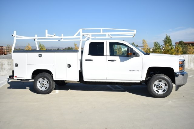 2019 Silverado 2500 Double Cab 4x2,  Harbor Utility #M19124 - photo 9