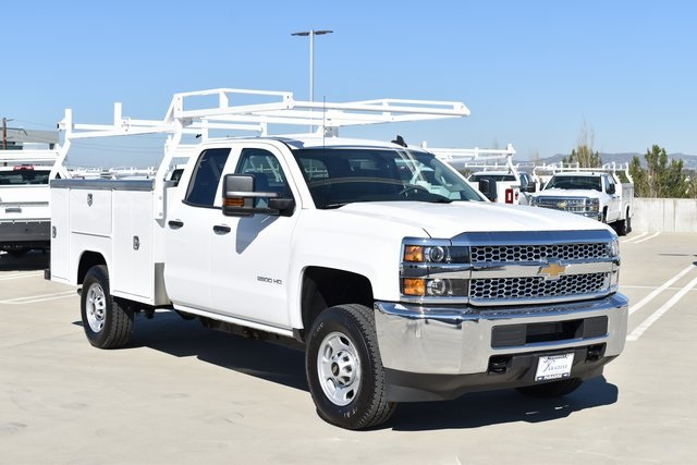2019 Silverado 2500 Double Cab 4x4, Harbor Utility #M191251 - photo 1