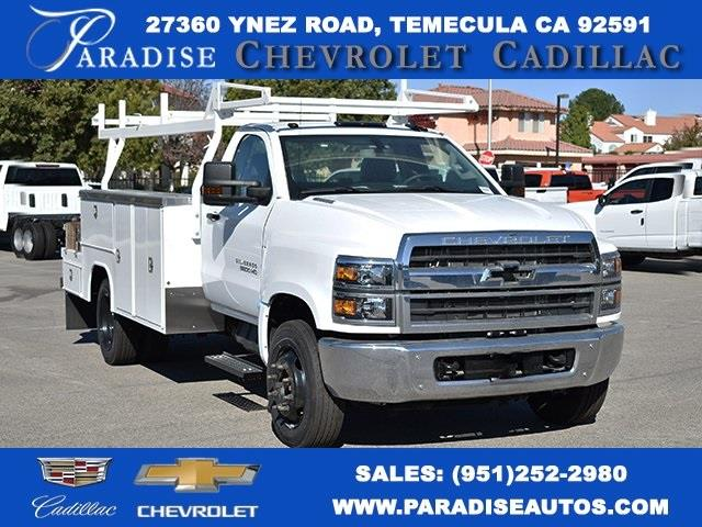 2019 Chevrolet Silverado 5500 Regular Cab DRW 4x2, Harbor Combo Body #M191268 - photo 1