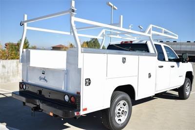 2019 Silverado 2500 Double Cab 4x2,  Harbor TradeMaster Utility #M19128 - photo 2