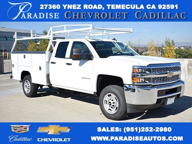 2019 Silverado 2500 Double Cab 4x2,  Harbor Utility #M19129 - photo 1