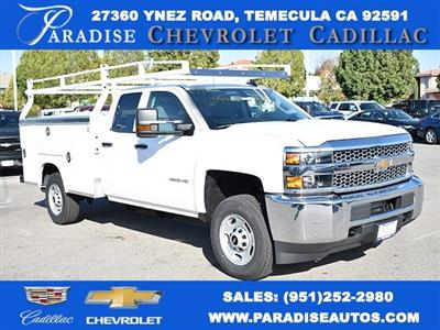 2019 Silverado 2500 Double Cab 4x2,  Royal Service Body Utility #M19130 - photo 1