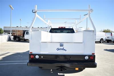 2019 Silverado 2500 Double Cab 4x2,  Harbor TradeMaster Utility #M19135 - photo 8