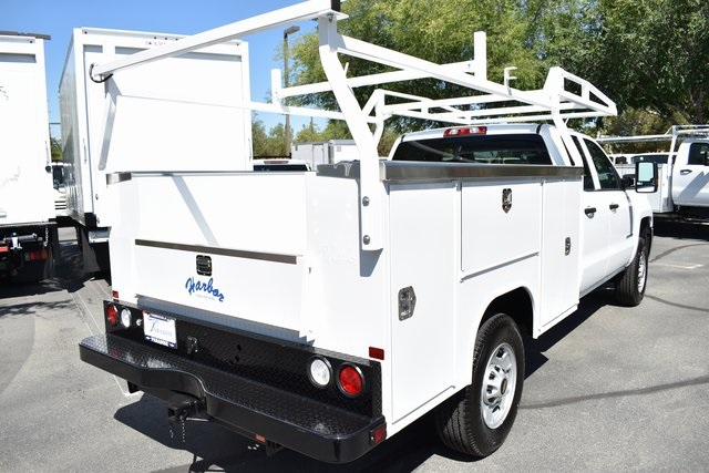 2019 Silverado 2500 Double Cab 4x2,  Harbor Utility #M191411 - photo 1