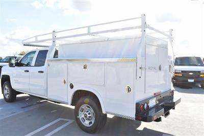 2019 Silverado 2500 Double Cab 4x2,  Royal Service Body Utility #M19143 - photo 7
