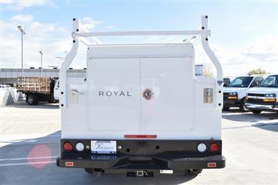 2019 Silverado 2500 Double Cab 4x2,  Royal Service Body Utility #M19143 - photo 8