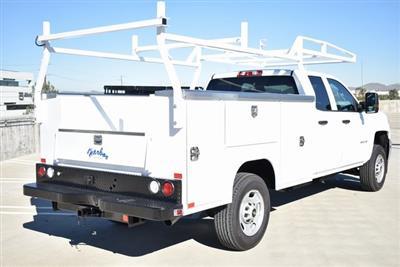 2019 Silverado 2500 Double Cab 4x2,  Harbor TradeMaster Utility #M19144 - photo 2