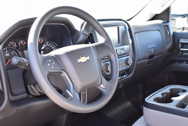 2019 Silverado 3500 Regular Cab DRW 4x2,  Harbor Contractor Body #M19147 - photo 19