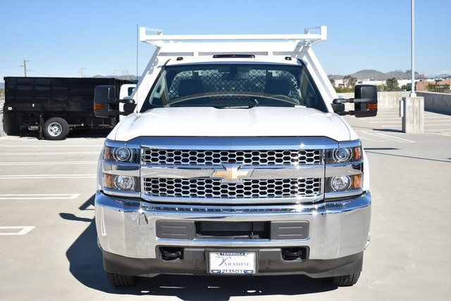 2019 Silverado 3500 Regular Cab DRW 4x2,  Harbor Contractor Body #M19147 - photo 5