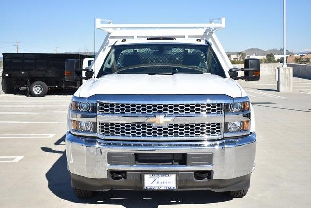 2019 Silverado 3500 Regular Cab DRW 4x2,  Harbor Standard Contractor Body #M19147 - photo 5