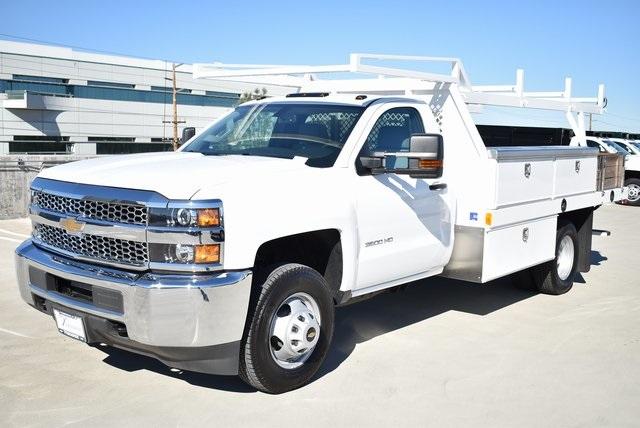 2019 Silverado 3500 Regular Cab DRW 4x2,  Harbor Standard Contractor Body #M19147 - photo 6