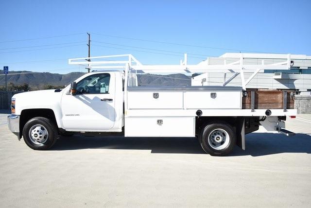 2019 Silverado 3500 Regular Cab DRW 4x2,  Harbor Standard Contractor Body #M19147 - photo 7