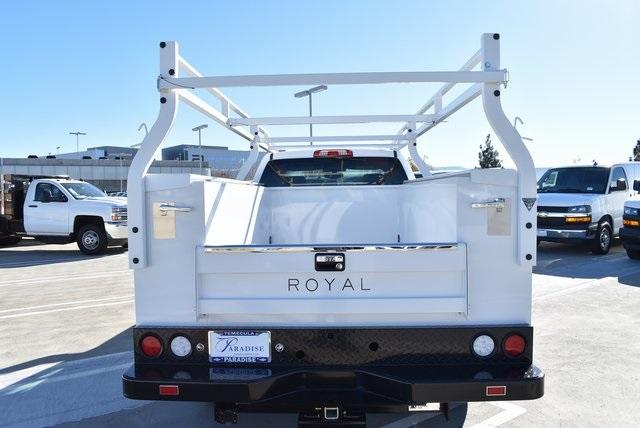 2019 Silverado 2500 Double Cab 4x2,  Royal Service Body Utility #M19166 - photo 8