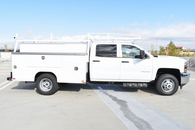 2019 Silverado 3500 Crew Cab DRW 4x4,  Harbor Utility #M19174 - photo 10