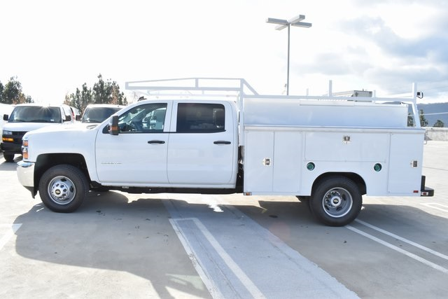2019 Silverado 3500 Crew Cab DRW 4x4,  Harbor Utility #M19174 - photo 7