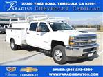 2019 Silverado 3500 Crew Cab DRW 4x4,  Harbor Utility #M19174 - photo 1