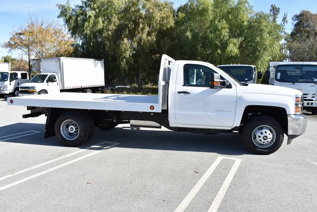 2019 Silverado 3500 Regular Cab DRW 4x2,  Royal Platform Body #M19187 - photo 10
