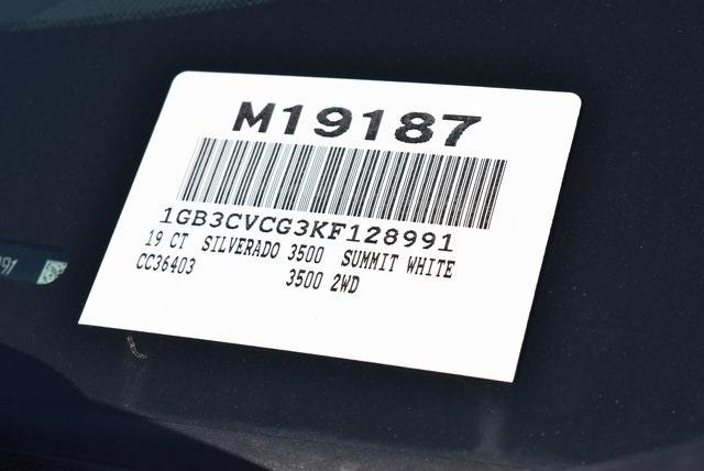 2019 Silverado 3500 Regular Cab DRW 4x2,  Royal Platform Body #M19187 - photo 4